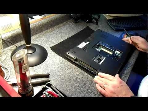 Dell Inspiron 1750 Laptop Repair - Virus and Screen Flickering Problem