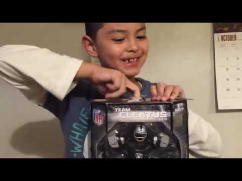 NFL Raiders robot
