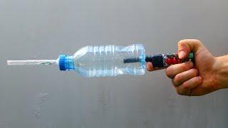 How to make Powerful Lighter Gun - DIY Toys for Fun