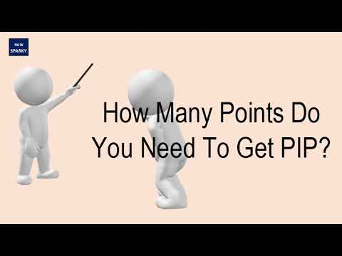 How Many Points Do You Need To Get PIP?