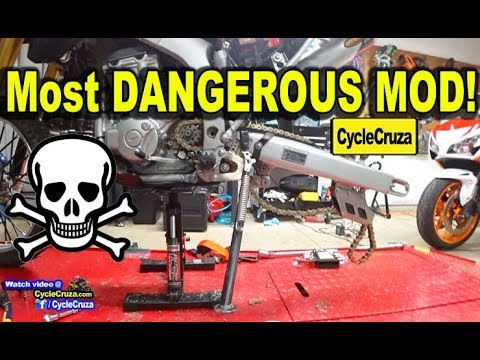 The Most DANGEROUS Motorcycle MOD ☠️ **WARNING TO ALL BIKERS!!**