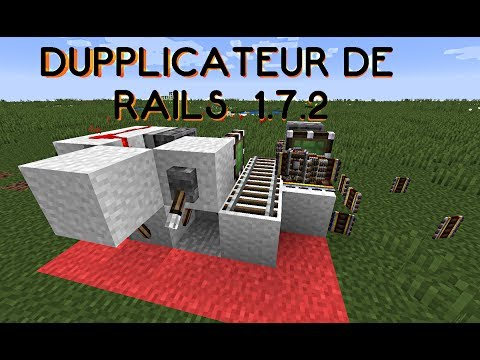 Minecraft: Duplication de rails divers [1.7.2]