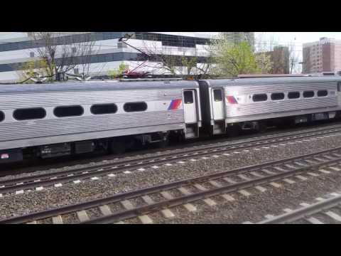 NJ Transit: Arrow III bound Penn Station New York departing New Brunswick