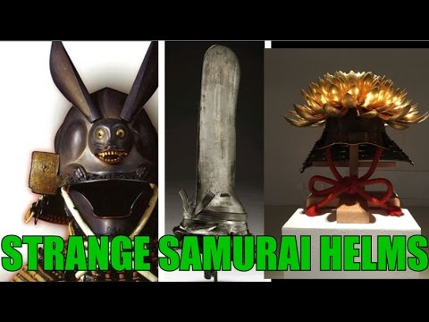 The Strangest and Most Beautiful Samurai Helmets - Kawari Kabuto