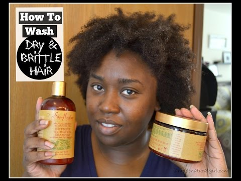 How To: Wash Dry, Brittle Hair