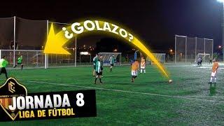 ¿GOLAZO? PARTIDO LIGA *Jornada 8* CRAZY CREW FC