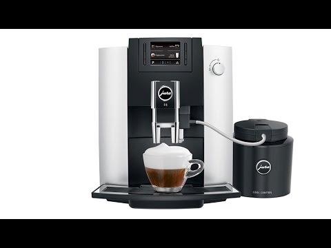 Jura E6 Coffee Machine Cleaning and Maintenance
