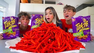 First To Finish Spicy Takis Wins CRAZY PRIZE!