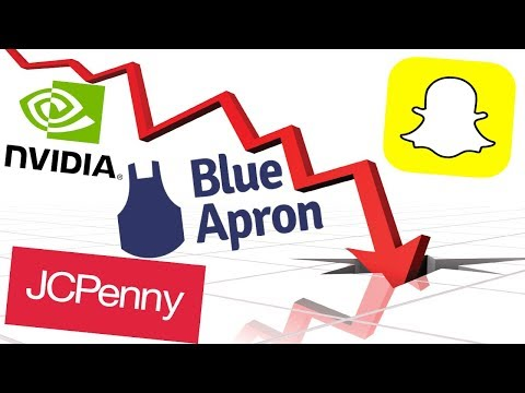 Nvidia, Snapchat, Blue Apron, JC Penny WAY DOWN!!! - Elon Musk Fires Back - Amazon Tickets?