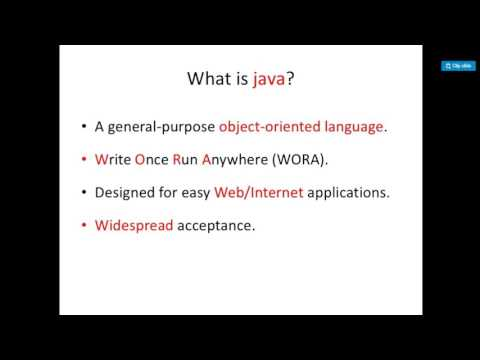 #1 Java Tutorial :Introduction To Java ,History ,New Things in Java and Difference From C and C++