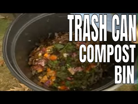 Trash Can Compost Bin