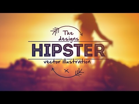 Design A Creative Hipster logo In Photoshop