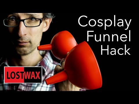 Hack This Funnel to Make a Sweet Dome for Forming Foam and Worbla