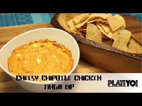 Cheesy Chipotle Chicken Tinga Dip (PlatiYO!)