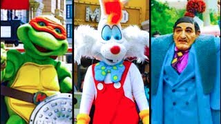 Top 5 Weird & Extinct Characters from Disney Theme Parks!