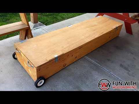 Project - Building Pinewood Derby Track storage boxes