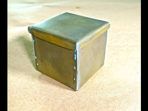 How to Make this Simple Brass Box