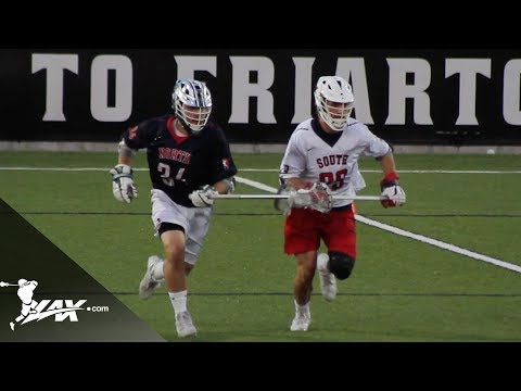 USILA D1 and D2 North vs South All Star Game | 2018 College Highlights