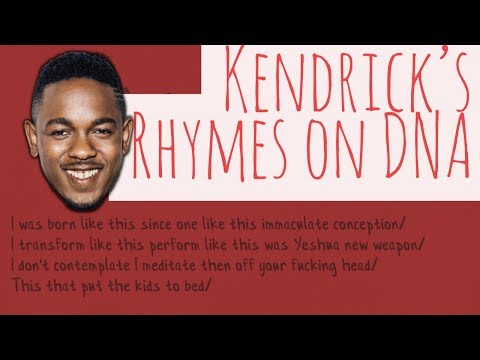 Rap Tips from Kendrick Lamar's DNA - Rhyme Schemes Analysis