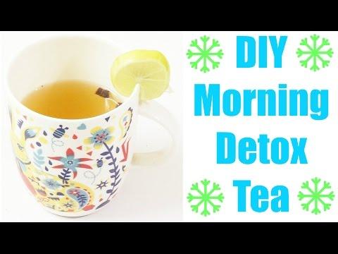 DIY Morning Detox Tea | Flat Stomach | Lose Belly Fat | Weight Loss
