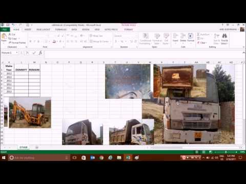 How to extract and save images from Excel sheet without installing any software.
