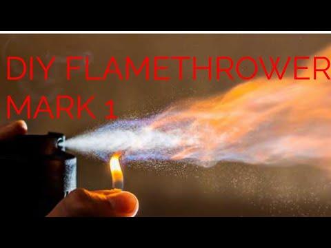 DIY: Flamethrower Mark 1 #Science & crafts