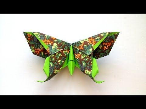 How to make an Origami Butterfly  (Michael G. LaFosse)