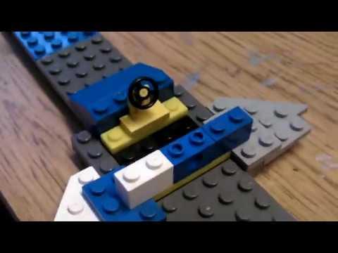 HOW TO MAKE A LEGO SPACESHIP!!!