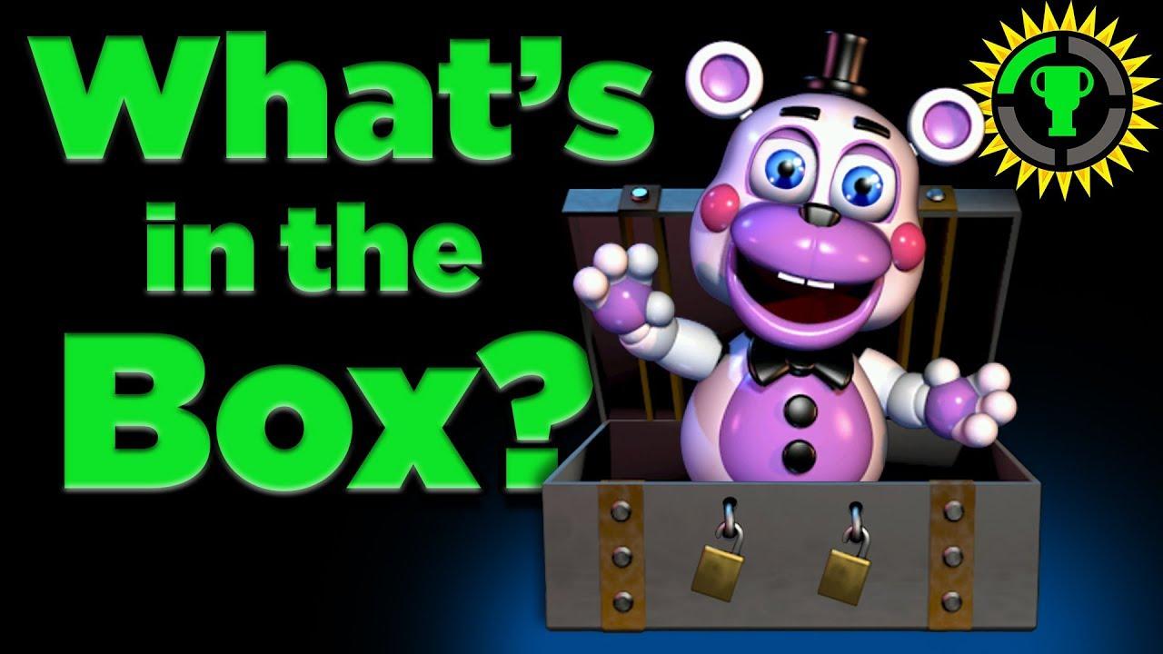 Game Theory: FNAF 6, What was in the BOX? (FNAF 6, Freddy Fazbear's Pizzeria Simulator)