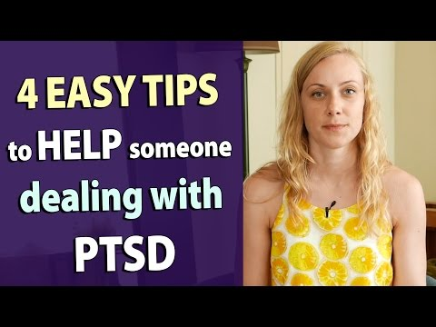 4 TIPS on HOW TO HELP someone with PTSD military treatment support trauma community