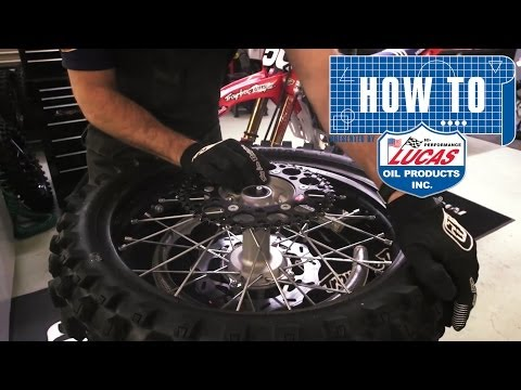 How To: Change a Rear Tire - TransWorld Motocross