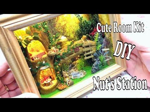 Dollhouse miniature kit- CuteRoom