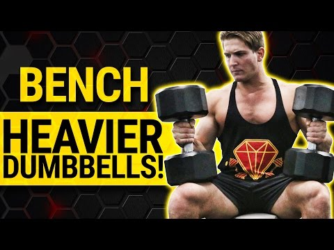 2 Easy Tips To Increase Your Dumbbell Bench Press & Build A BIGGER CHEST | EVEN WITHOUT A SPOTTER!