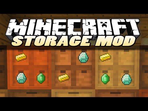 Minecraft Mods   STORAGE DRAWERS   Mod Showcase