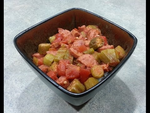 Spicy Okra Tomato