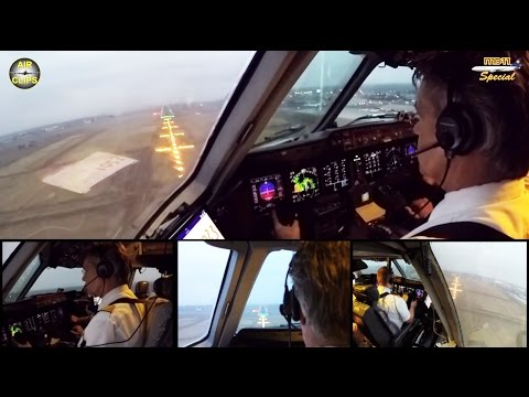 Lufthansa Cargo MD 11F ULTIMATE COCKPIT MOVIE 1/4 FRA-Nairobi,FULL ATC [AirClips full flight series]