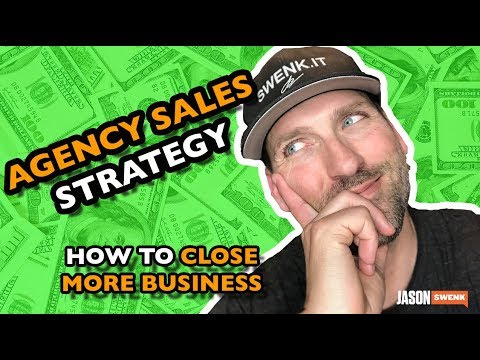 DIGITAL AGENCY SALES STRATEGY TO CLOSE MORE BUSINESS | SwenkToday #115