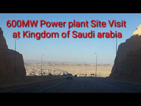 600 MW Gas and Steam Combined Power Generation Plant visit to saudi arabia
