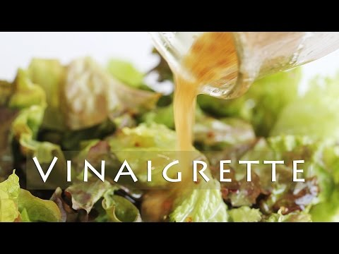 How to Make Vinaigrette - Salad Dressing Recipe - Yum! 샐러드 드레싱 만들기