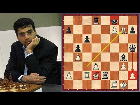 Anand's Brilliant Sacrifice Will Definitely Find Its Place In Chess Books
