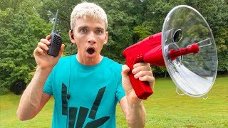 TRAPPING THE GAME MASTER WITH TOP SECRET SPY GADGETS in REAL LIFE!!