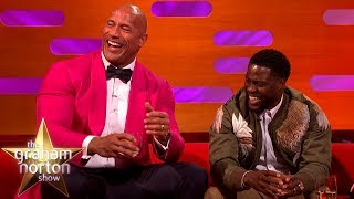 Kevin Hart Wants To Be An Action Star Like Dwayne 'The Rock' Johnson | The Graham Norton Show
