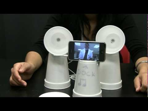 DIY - Speaker Cups