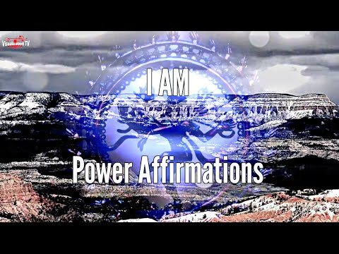 I AM Affirmations for Enthusiasm and Confidence - I Am Power Affirmations Series