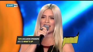 Δυνατή μάχη στο Voice Μάρα Τζίμα Vs Μαρία Θεοχαροπούλου - Της Καληνύχτας τα φιλιά || Battles 11/2017