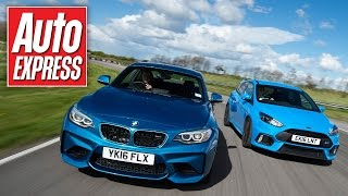 BMW M2 vs Ford Focus RS: Which is king on track?