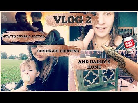 VLOG 2   HOW TO COVER A TATTOO FOR A WEDDING WITH MAKEUP!!