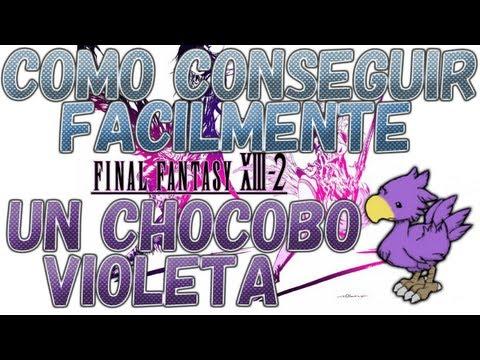 Final Fantasy XIII-2 | Consiguiendo un Chocobo Violeta