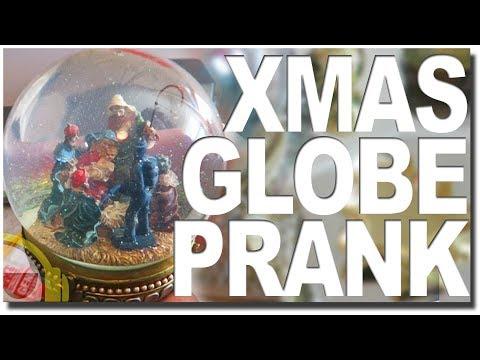 Christmas Snow Globe Prank!!