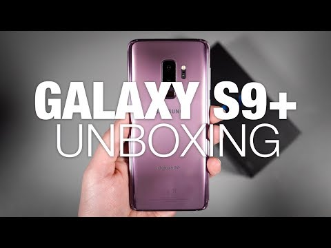 Galaxy S9+ Unboxing and Tour!